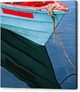 Fishing Boat-1-st Lucia Canvas Print