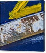 Fishing Boat Abstract Canvas Print
