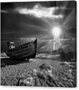 Fishing Boat Graveyard 7 Canvas Print