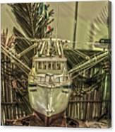 Fishing Boat Hdr 2 Canvas Print