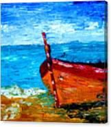 Fishing Boat Canvas Print
