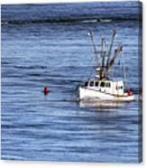 Fishing Boat Return Canvas Print