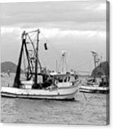 Fishing Boats At Pearl Beach 1.2 Canvas Print