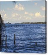 Fishing Cove Canvas Print