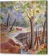 Fishing Fun Canvas Print