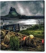 Fishing Gear At Lindisfarne. Canvas Print