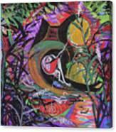 Fishing In Wonderland Canvas Print