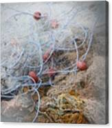 Fishing Net Canvas Print