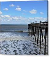 Fishing Pier 1 Canvas Print