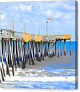 Fishing Pier 4 Canvas Print