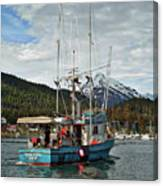 Fishing Vessel Chinak Canvas Print