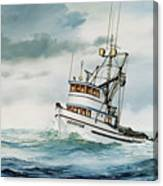 Fishing Vessel Devotion Canvas Print