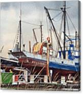 Fishing Vessel Ranger Drydock Canvas Print