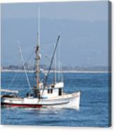 Fishing Vessel Sun Ra Canvas Print