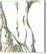 figure. 16 March, 2015 Canvas Print