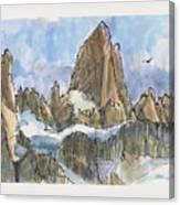 Fitz Roy, Patagonia Canvas Print