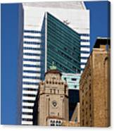 Five Building New York  Canvas Print