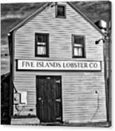 five islands lobster company black and white photograph by john kenealy