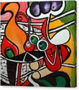 Five O' Clock With Picasso Canvas Print