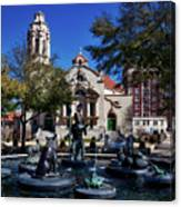 Five Points Fountain Canvas Print