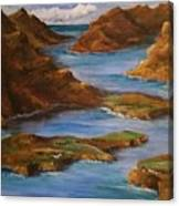 Fjords Of Norwary Canvas Print