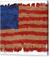 Flag 2 Canvas Print