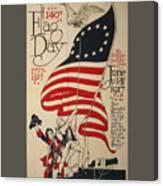 Flag Day 1917 Canvas Print