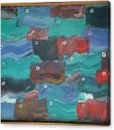 Flag Fish Canvas Print