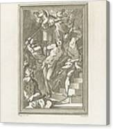 Flagellation Of A Saint Canvas Print