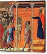 Flagellation Of Christ 1311 Canvas Print