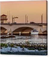 Flagler Bridge In The Evening IIi Canvas Print