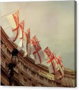 Flags Of London Canvas Print