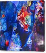 Flak'd Canvas Print
