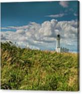 Flamborough Lighthouse, North Yorkshire. Canvas Print