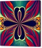 Flame Blossom Canvas Print