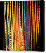 Flame Lines Canvas Print