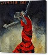 Flamenco 18 Canvas Print