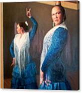 Flamenco 3 Canvas Print