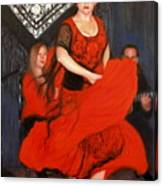 Flamenco 8 Canvas Print