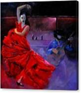 Flamenco 88 Canvas Print
