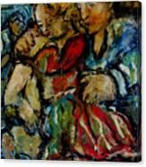 Flamenco Canvas Print
