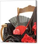 Flamenco Clothing  Canvas Print