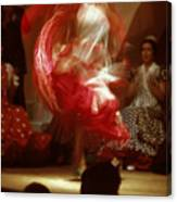 Flamenco Dancer In Seville Canvas Print
