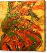 Flamenco Flame - Tile Canvas Print