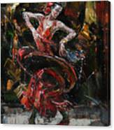 Flamenco II Canvas Print