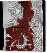 Flamenco Lady 5 Canvas Print