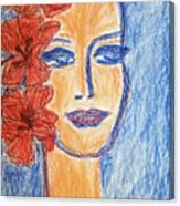 Flamenco Nights - Alicia Canvas Print