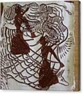 Flamenco Passion 1 Canvas Print
