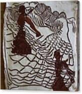 Flamenco Passion 4 Canvas Print