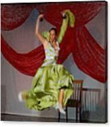 Flamenco Show Nr 2 Canvas Print